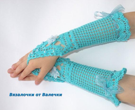 Handschuhe сrochet Handschuhe Hochzeit Braut Häkeln Handschuhe Etsy