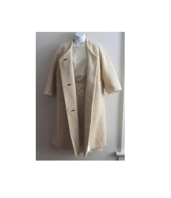 1940's - Vintage Swing Coat - Wool