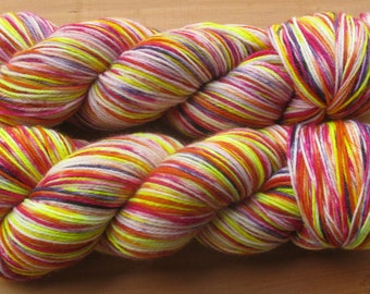 Sock (4Ply), hand-dyed yarn, 100g - Celebrate Good Times