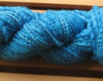 Thick-N-Thin, hand-dyed yarn, 100g - Royal Blue