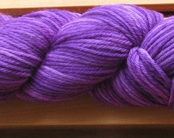 4Ply Merino, hand-dyed yarn, 100g - Ultra Violet