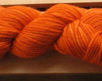10Ply, hand-dyed yarn, 100g - Rust