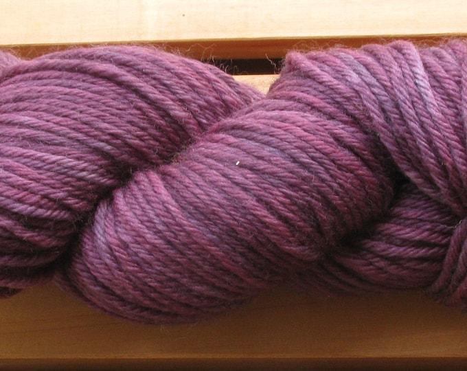 10Ply, hand-dyed yarn, 100g - Blackberry Wine