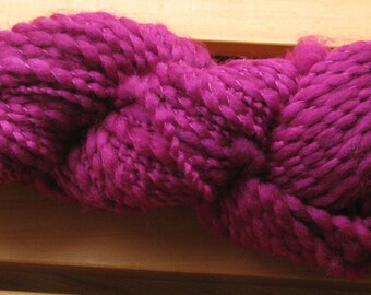 Thick-N-Thin, hand-dyed yarn, 100g - Berry Nice