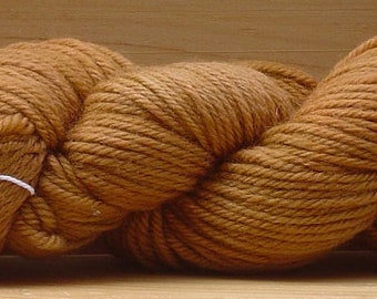 8Ply (DK), hand-dyed yarn, 100g - Tan Square