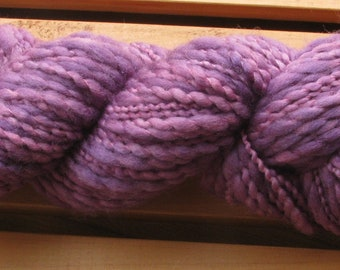 Thick-N-Thin, hand-dyed yarn, 100g - Victorian Plum