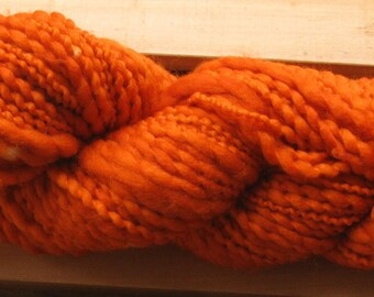 Thick-N-Thin, hand-dyed yarn, 100g - Rust