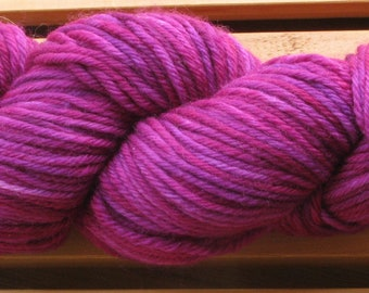 Sock (4ply), hand-dyed yarn, 100g - Berry Nice