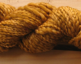 Thick-N-Thin, hand-dyed yarn, 100g - Tan Square