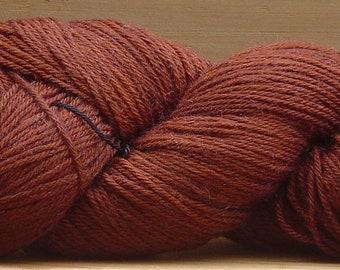 4Ply Merino, hand-dyed yarn, 100g - Chocolate