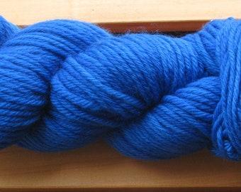 8Ply (DK), hand-dyed yarn, 100g - True Blue