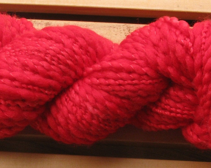 Thick-N-Thin, hand-dyed yarn, 100g - Cranberry Punch