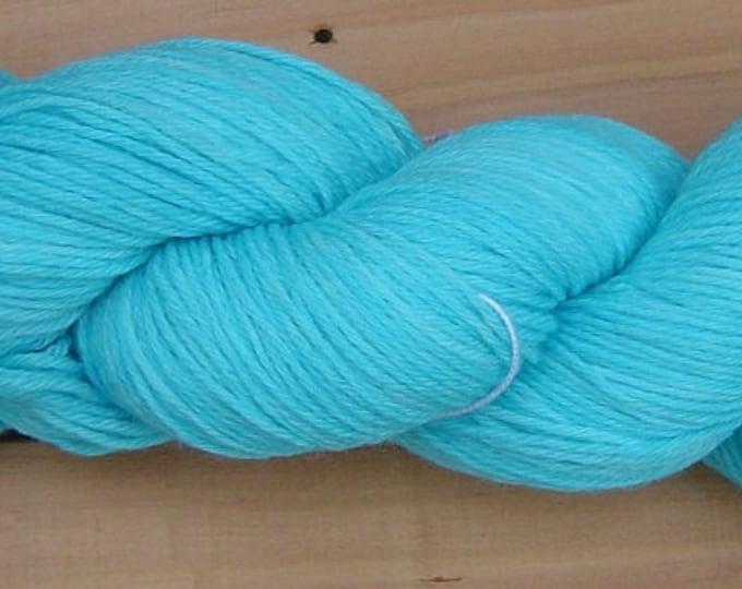 Sock (4 ply), hand-dyed yarn, 100g - Sky Blue