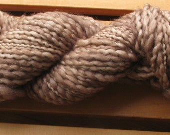 Thick-N-Thin, hand-dyed yarn, 100g - Baked Clay