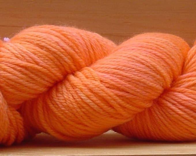 8Ply (DK), hand-dyed yarn, 100g - Orange