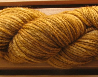 10Ply, hand-dyed yarn, 100g - Tan Square
