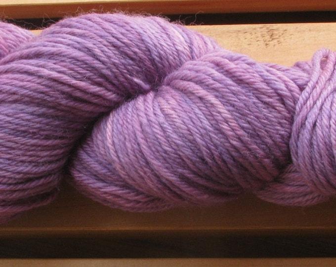 8Ply (DK), hand-dyed yarn, 100g - Victorian Plum