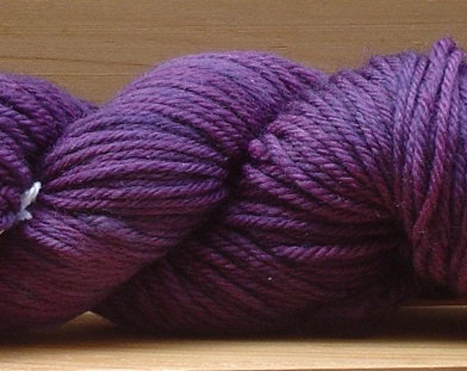 8Ply (DK), hand-dyed yarn, 100g - Blackberry Wine