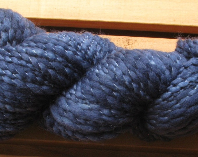 Thick-N-Thin, hand-dyed yarn, 100g - In The Navy