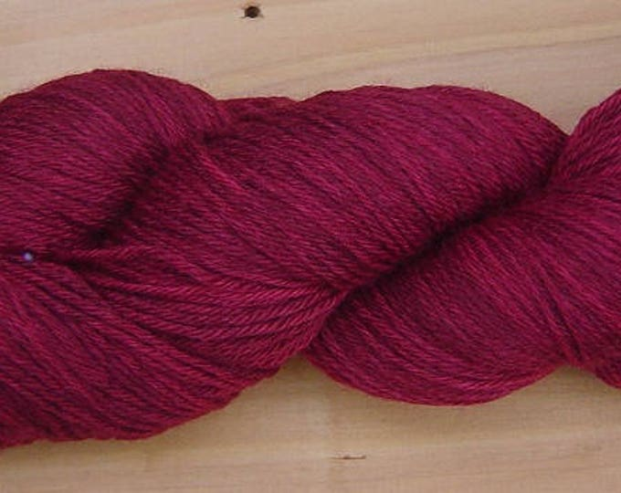 Sock (4ply), hand-dyed yarn, 100g - Burgundy