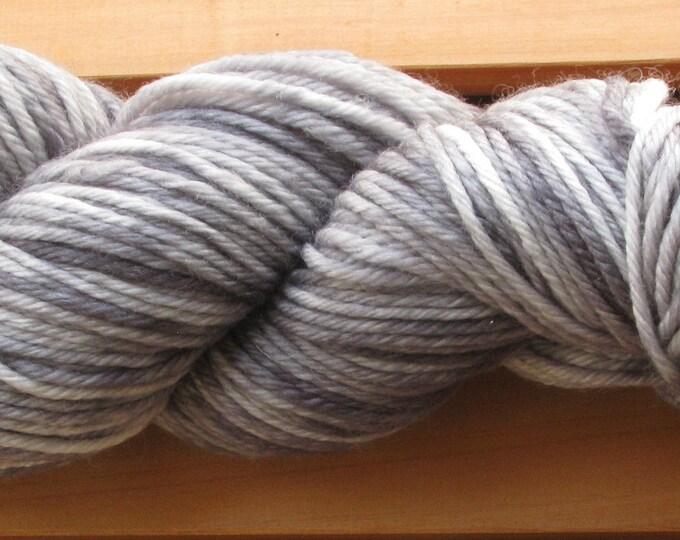 10Ply, hand-dyed yarn, 100g - Grey