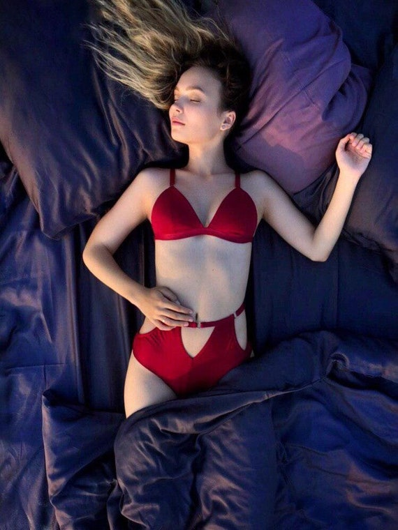 0c1b72879d Red lingerie red bra see through lingerie sexy lingerie