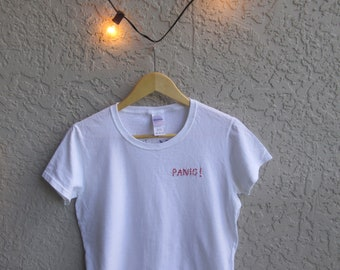 3d89593c Panic! at the Disco embroidered t-shirt
