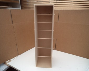 Hand Crafted Mdf Ribbon Storage Rack Can be Freestanding or Wall Mounted