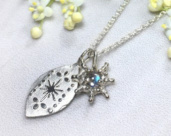 Custom Silver Star Charm,wishes come true, silver make a wish necklace, personalized necklace, personalised jewelry, bridesmaid gift for her