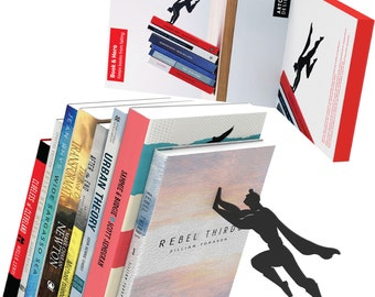 """Bookend Shaped as a Superhero 