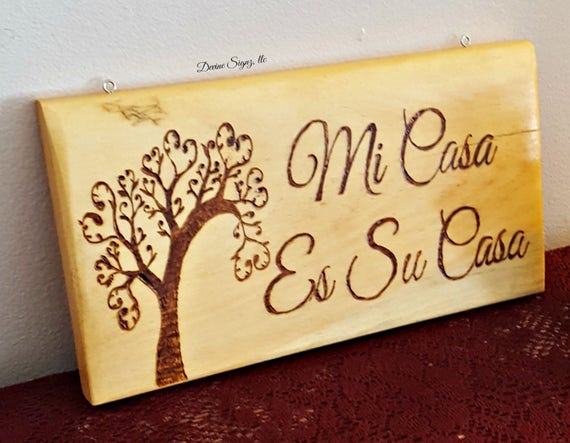 Home Decor Signs In Spanish