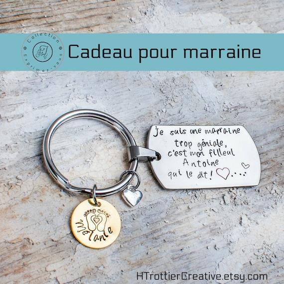 Patenmutter Geschenk Danke Patenmutter Geschenk Taufe Geschenk Godeul Große Pate Mutter Maßgabe In Quebec Edelstahl Schlüssel Inhaber