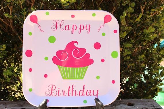 Happy Birthday Cookie Plate Etsy