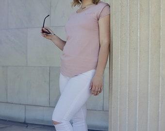 Mama Blush & Copper | Women's Cotton Modal T-shirt