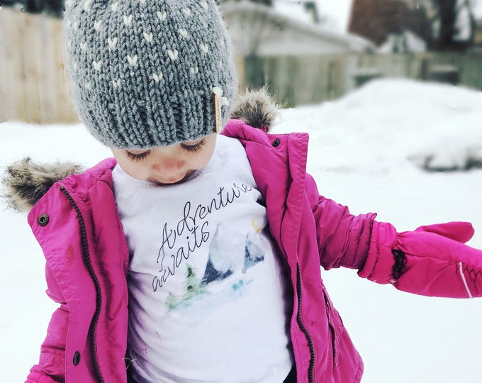Adventure Awaits | Toddler T-shirt