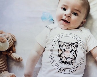 Born to Lead Tiger | Baby Bodysuit