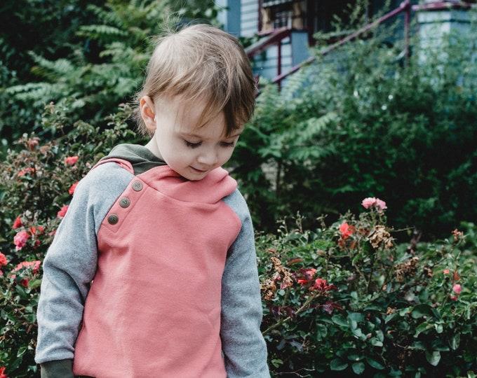Olive   Doublehood Toddler Sweatshirt