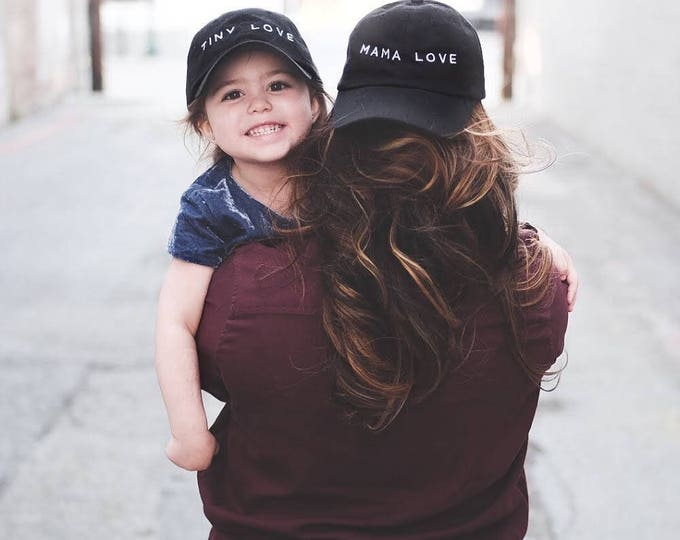Mama Love | Embroidered Baseball Hat