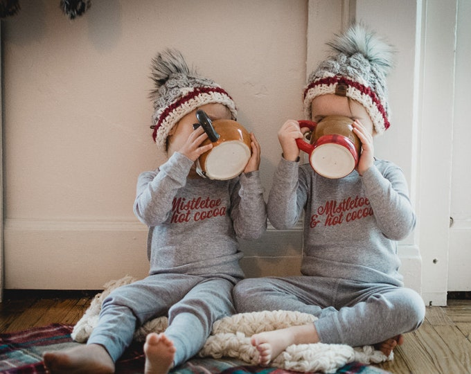 Mistletoe & Hot Cocoa | Toddler Pajamas