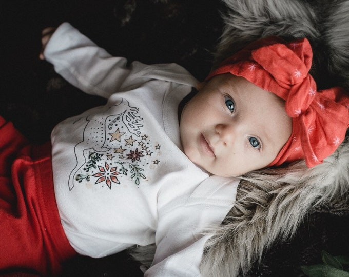 Holiday Reindeer | Baby Pajamas