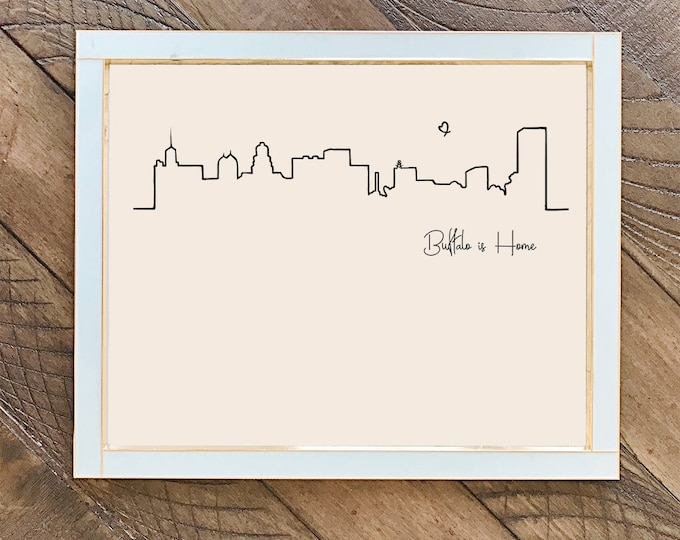 Buffalo is Home | Skyline | Art Print
