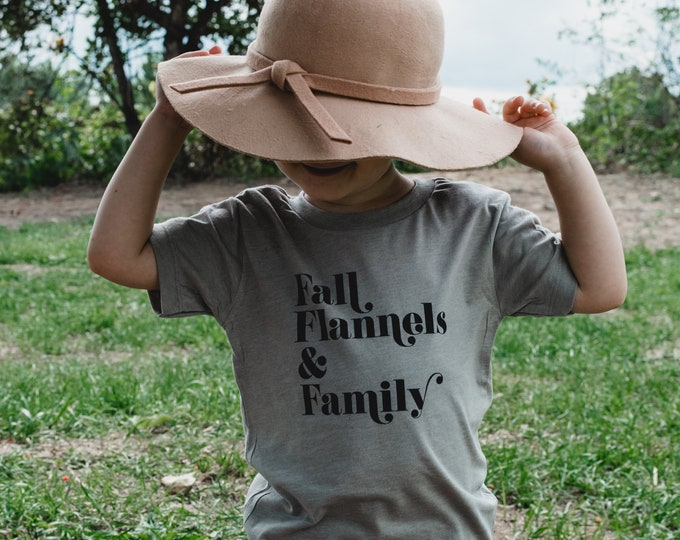 Fall Flannels & Family | Toddler T-shirt