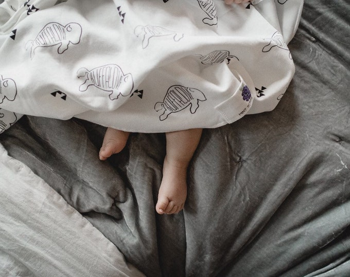 Buffalove | Organic Cotton Baby Blanket