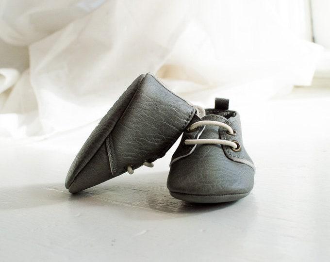 Stonehedge Grey   Baby Moxfords