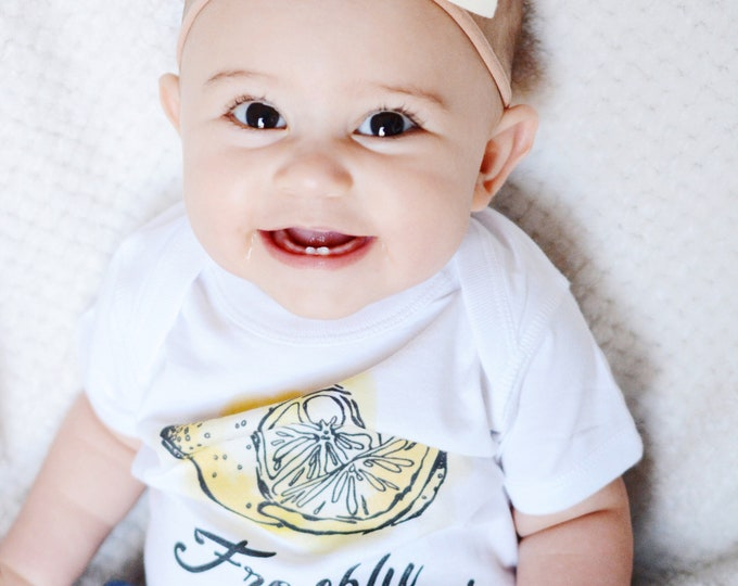 Freshly Squeezed Lemon | Baby Bodysuit