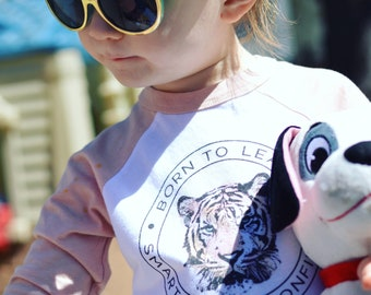 Born to Lead Tiger /// Baseball Style /// Toddler Tee