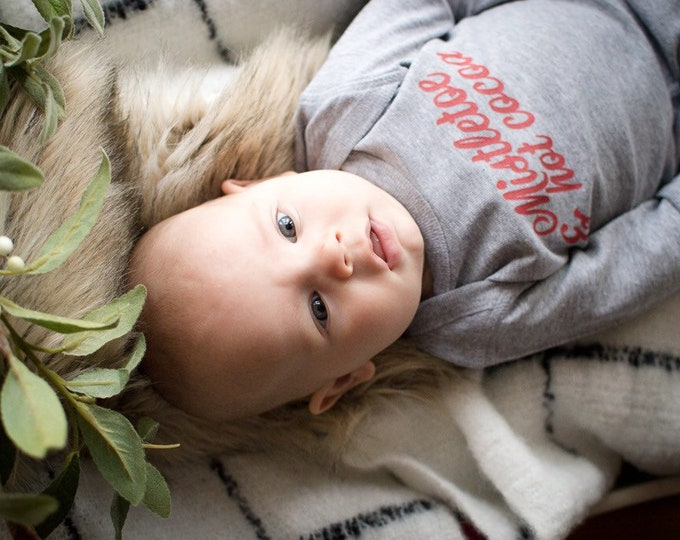Mistletoe & Hot Cocoa | Baby Pajamas
