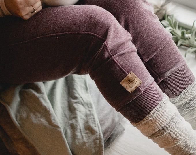 Wine | Unisex French Terry Joggers