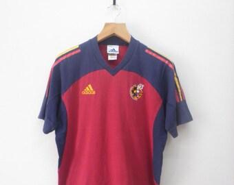 Vintage Adidas Spain Football Team T-Shirt 859d15de6