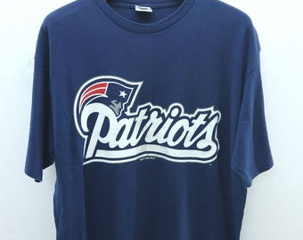 f50f03fdd Vintage New England Patriots Bledsoe NFL T-Shirt Starter Sports Wear Hip  Hop Tee Top Size L